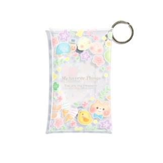 ぷちこちゃん Mini Clear Multipurpose Case