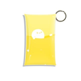 Liquid_マルーン Mini Clear Multipurpose Case