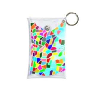 水面に浮かぶ欠片 Mini Clear Multipurpose Case