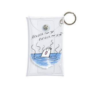 お風呂のおばけちゃん Mini Clear Multipurpose Case