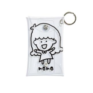 モモガール Mini Clear Multipurpose Case