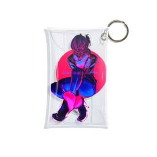 HEEL BOY Mini Clear Multipurpose Case