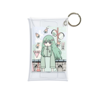 春のムシ Mini Clear Multipurpose Case