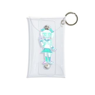 人生終わっちゃった☆ Mini Clear Multipurpose Case