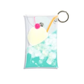 クリームソーダ Mini Clear Multipurpose Case