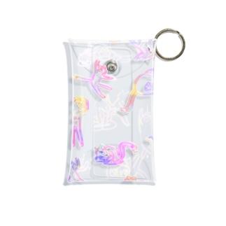 しっぽネコケース Mini Clear Multipurpose Case