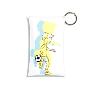 サッカー リフティングチャレンジ パターン1  Mini Clear Multipurpose Case
