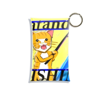 猫吉くん Mini Clear Multipurpose Case
