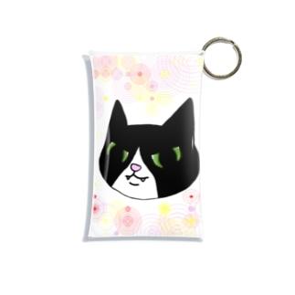 白足袋福蔵 Mini Clear Multipurpose Case