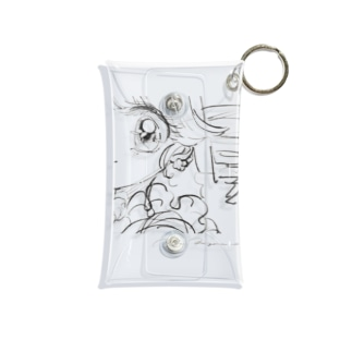 Croquis series no.01 Mini Clear Multipurpose Case