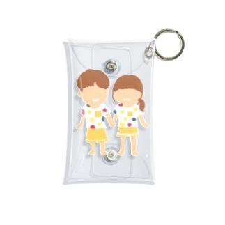 Soragasukiのカップル Mini Clear Multipurpose Case