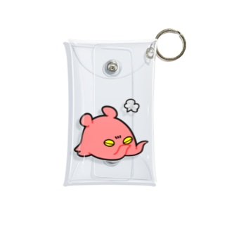 おこメンダコ Mini Clear Multipurpose Case