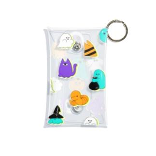 ハロウィン Mini Clear Multipurpose Case