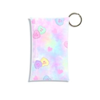 ファンシーキャンディーハーツ Mini Clear Multipurpose Case