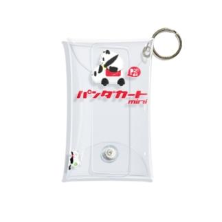 GO GO! パンダカートmini カタカナロゴ Mini Clear Multipurpose Case