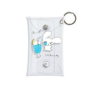 ブルーレモネード Mini Clear Multipurpose Case