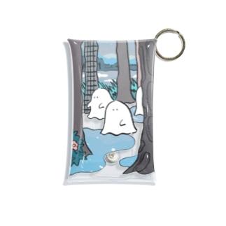 チーカマの森のオバケちゃん(よる) Mini Clear Multipurpose Case