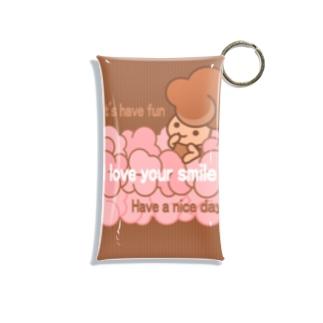 ◎Pretty pop girl◎BR◎ Mini Clear Multipurpose Case