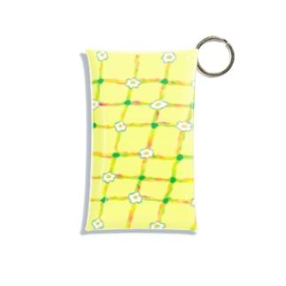お花と目玉焼き🌼🍳 Mini Clear Multipurpose Case