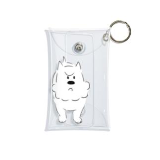 プンスカるびちゃん白色 Mini Clear Multipurpose Case