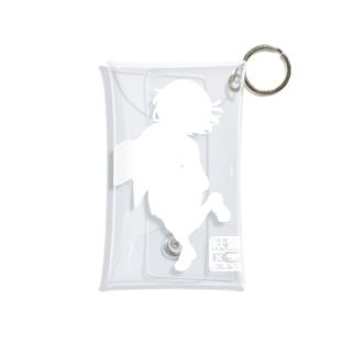 朱音ちゃんシルエットクリアマルチケース Mini Clear Multipurpose Case