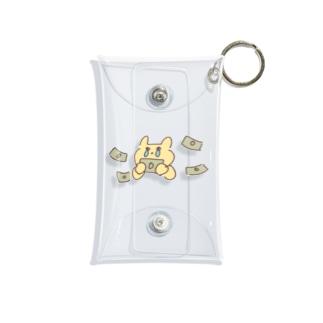 金欠うさぎ Mini Clear Multipurpose Case