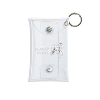 ポニテ少女 ミニマルチケース Mini Clear Multipurpose Case