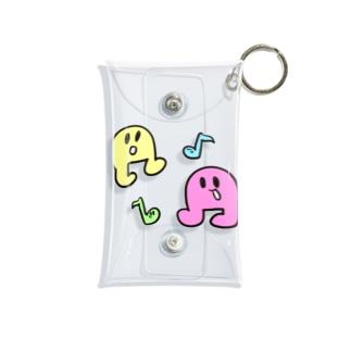 おんぷちゃん Mini Clear Multipurpose Case