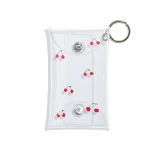 さくらんぼ畑 Mini Clear Multipurpose Case