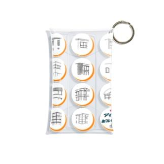 ビルヂング Mini Clear Multipurpose Case