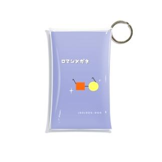 ロマンメガネ Mini Clear Multipurpose Case