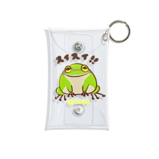 カエルのスイスイ Mini Clear Multipurpose Case