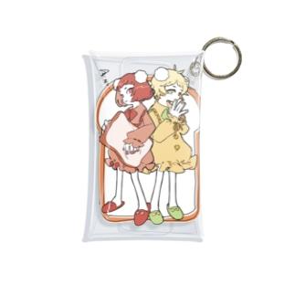 【飯田テイケ×渡瀬しぃの】 Sewing Girls 🍞 Mini Clear Multipurpose Case