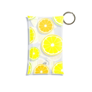 オレンジ&レモン&ライム  Mini Clear Multipurpose Case