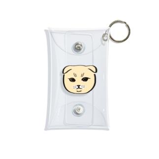 お猫様06 Mini Clear Multipurpose Case