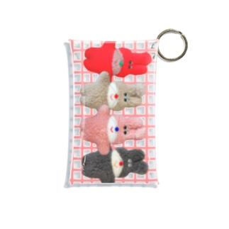 つらなりフニミちゃん Mini Clear Multipurpose Case