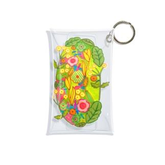 花々の庭 Mini Clear Multipurpose Case
