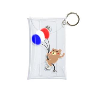 KUMAKICHI-balloon- Mini Clear Multipurpose Case