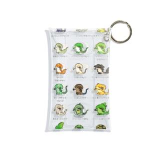 コオロギ食うはちゅまとめ Mini Clear Multipurpose Case