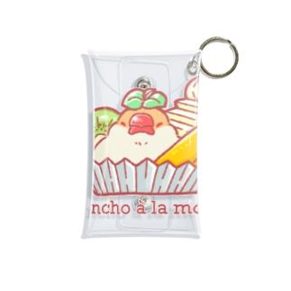 BOUTIQUE MUMU (ぶてぃっく むーむー)のBuncho à la mode(クリーム文鳥) Mini Clear Multipurpose Case