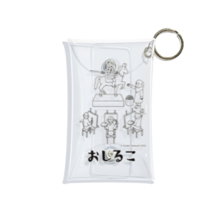 おしるこ公式グッズ<おしるこでおしごと> Mini Clear Multipurpose Case
