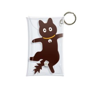 びっくり猫 Mini Clear Multipurpose Case