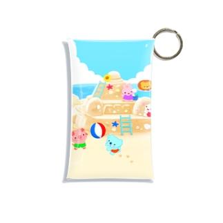 砂浜にあつまれ~ Mini Clear Multipurpose Case