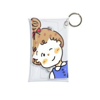 381おてんばおだんごガール Mini Clear Multipurpose Case
