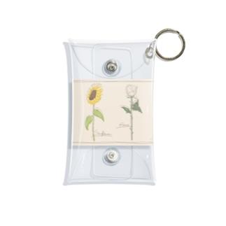 Flower Mini Clear Multipurpose Case