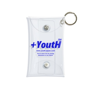 +YoutH logo Mini Clear Multipurpose Case