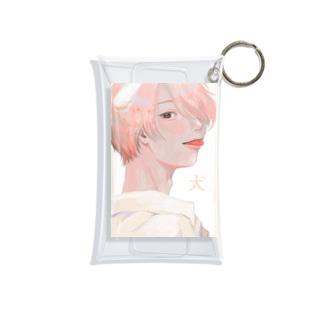 犬系男子 Mini Clear Multipurpose Case