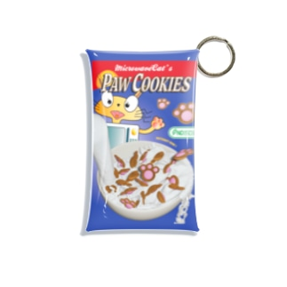 PAW COOKIES (KITCHEN ANIMALS) Mini Clear Multipurpose Case