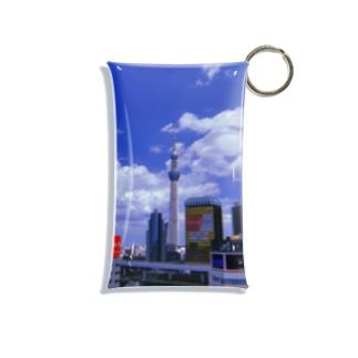 東京の象徴 Mini Clear Multipurpose Case