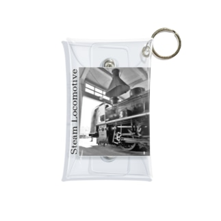 扇形車庫にスタンバイ中のSL Mini Clear Multipurpose Case